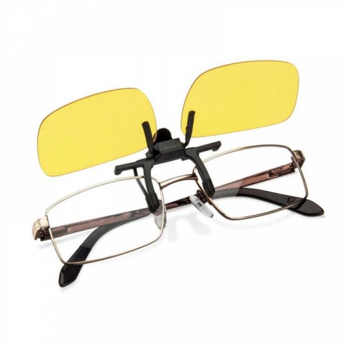 Clipsuri pentru ochelari Night View de condus noaptea sau pe timp de ceata [3]