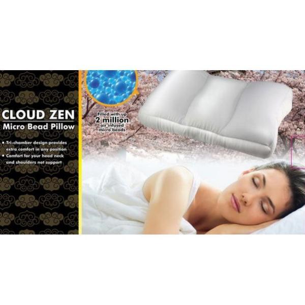 Cloud Zen Micro Bead Pillow Perna ortopedica [0]