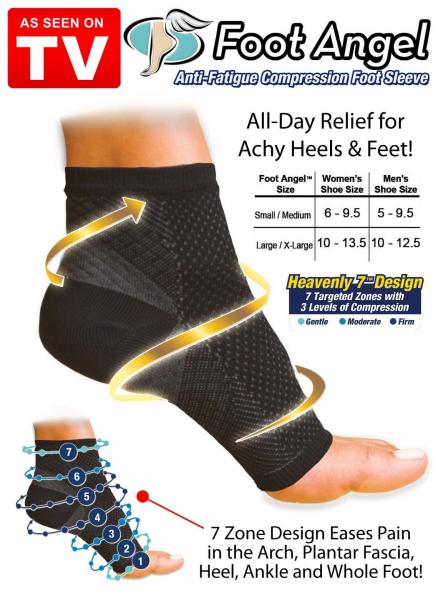 Compresa picior anti oboseala si dureri Foot Angel 1