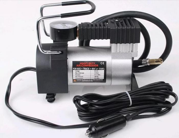 Compresor auto 12V / 7 bar 965 kPA,alimentare la mufa auto 12V [0]