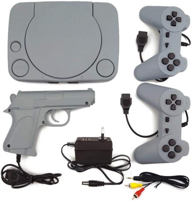 Consola de Jocuri Video Retro in memorie, cu 2 joystick-uri incluse, Jocurile Copilariei [3]