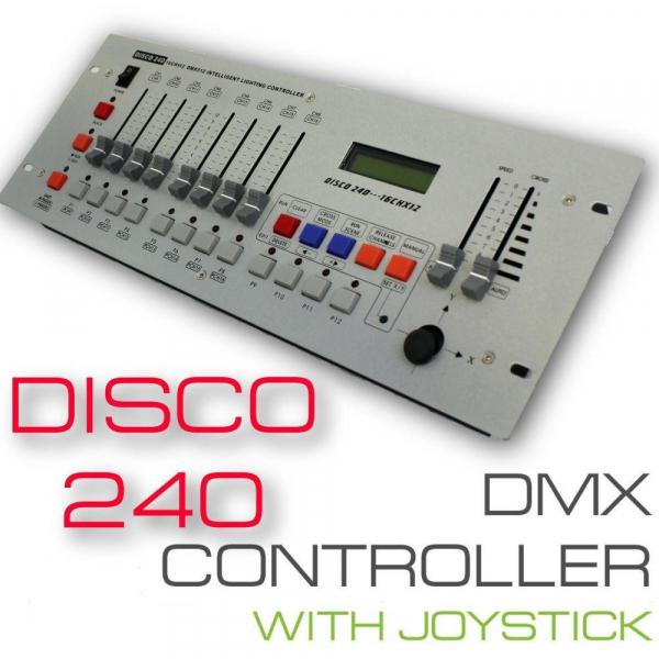 Controler disco cu joystick DMX 240 0