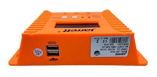 Controller pentru panou solar Jarrett 20 A cu afisare LCD si iesire USB (5V-2A) [3]