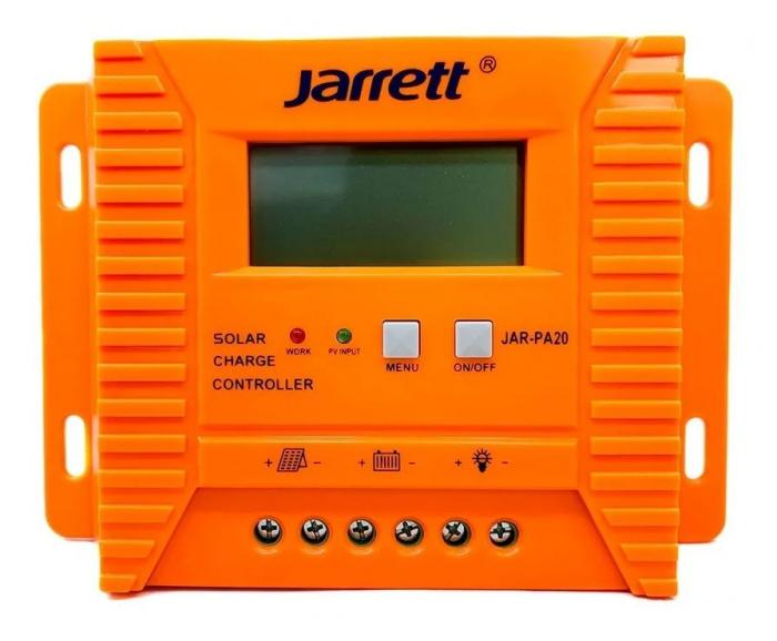 Controller pentru panou solar Jarrett 20 A cu afisare LCD si iesire USB (5V-2A) [2]