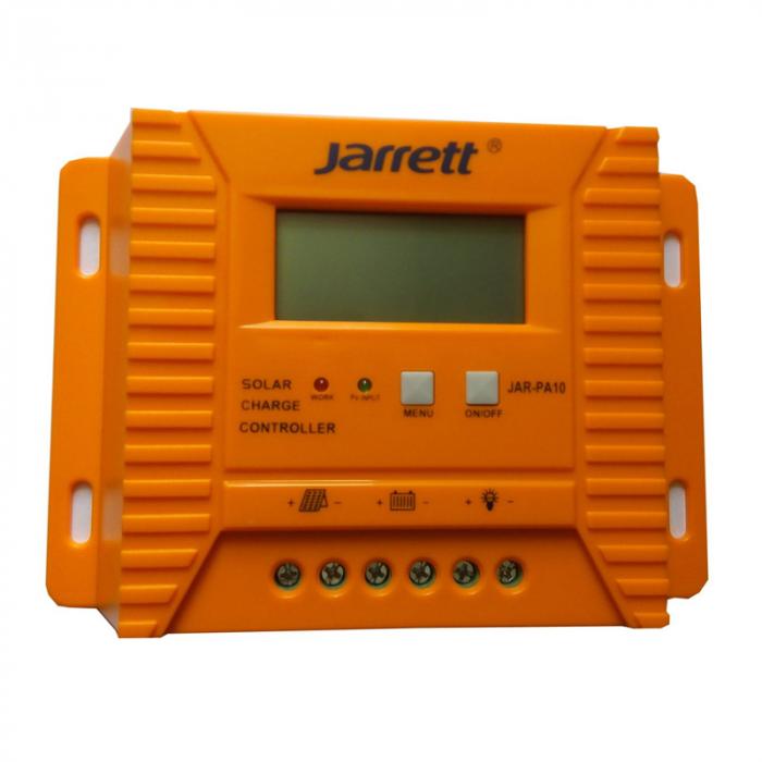 Controller pentru panou solar Jarrett 20 A cu afisare LCD si iesire USB (5V-2A) [5]