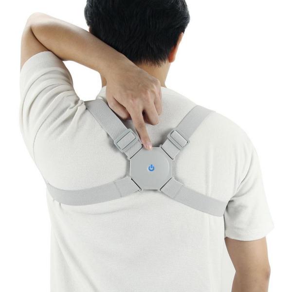 Corector de postura cu senzor inteligent si vibratii pentru spate drept 0