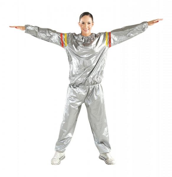 Costum cu efect de sauna pentru slabit Exercise Suit [2]
