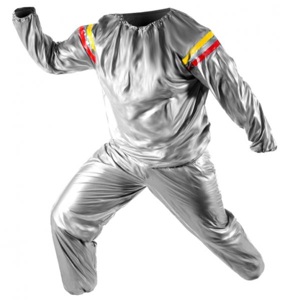 Costum cu efect de sauna pentru slabit Exercise Suit [0]