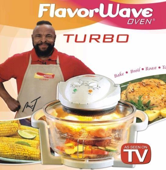 Cuptor cu halogen si convectie Flavor Wave Turbo Oven 1