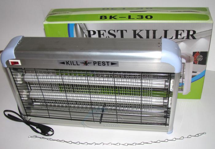Dispozitiv impotriva tantarilor Insect Killer 30W,cu tava colectare [3]
