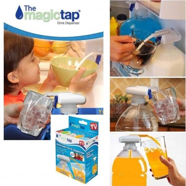 Dozator bautura automat pentru sticle Magic Tap 1