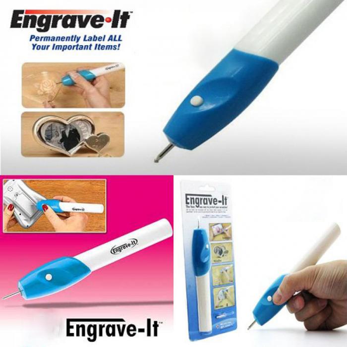 Creion electric pentru gravat in Lemn, Metal sau Sticla, Engrave-It [1]