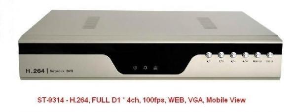 DVR pentru inregistrare video ST-9314 - DVR H.264 0