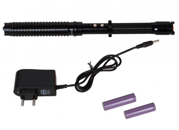 Electrosoc baston extensibil pentru autoaparare Police HY-X10 [0]