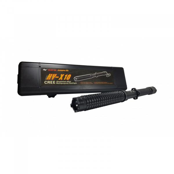 Electrosoc baston extensibil pentru autoaparare Police HY-X10 [1]