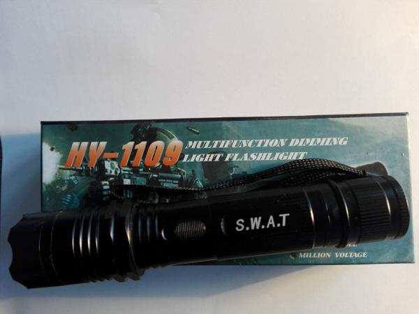 Electrosoc lanterna cu 3 moduri de iluminare Swat HY-1109 1