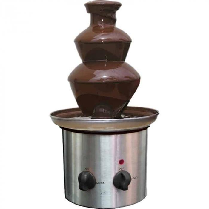 Fantana de ciocolata cu 3 cascade, putere 170 Watt, Chocolate Fountain Superchef [1]