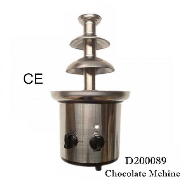 Fantana de ciocolata cu 3 cascade, putere 170 Watt, Chocolate Fountain Superchef [2]