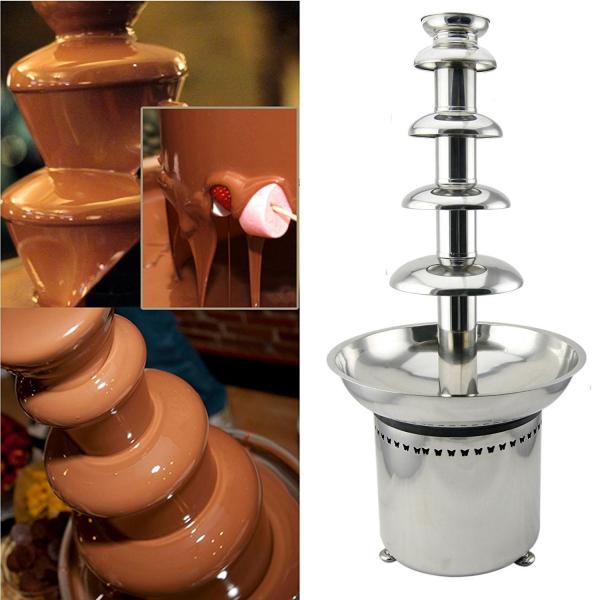 Fantana de ciocolata profesionala Chocolate Fountain D20099 1