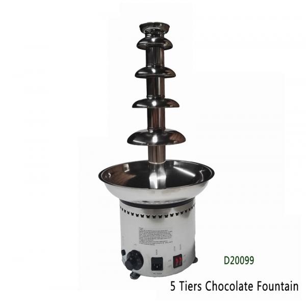 Fantana de ciocolata profesionala Chocolate Fountain D20099 4