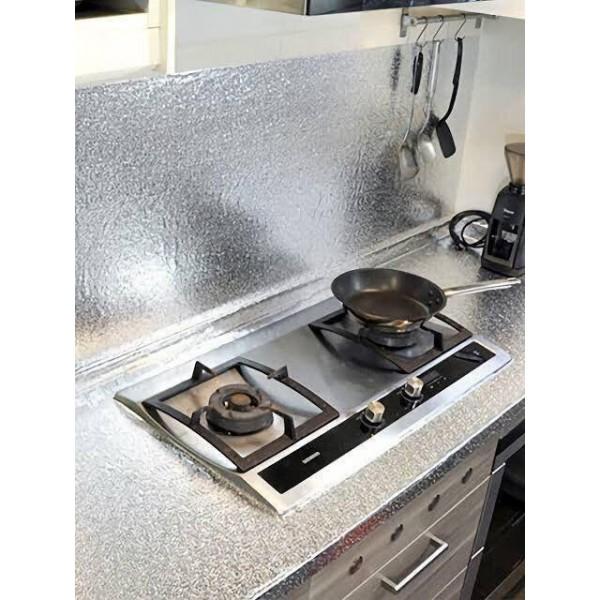 Folie adeziva din aluminiu pentru o bucatarie 60 x 300 cm [1]