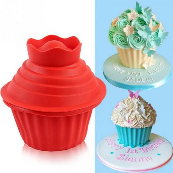 Forme pentru prajituri din silicon,Giant Cupcake 1