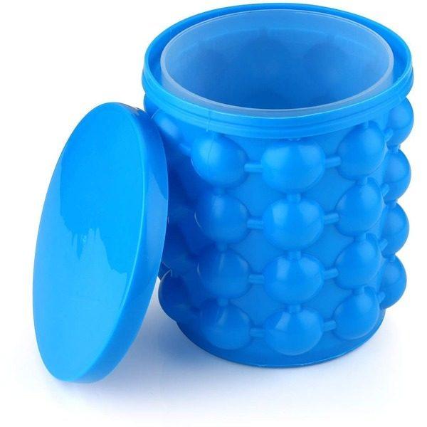 Frapiera gheata din silicon si forma pentru cuburi de gheata Ice Cube Maker Genie 0