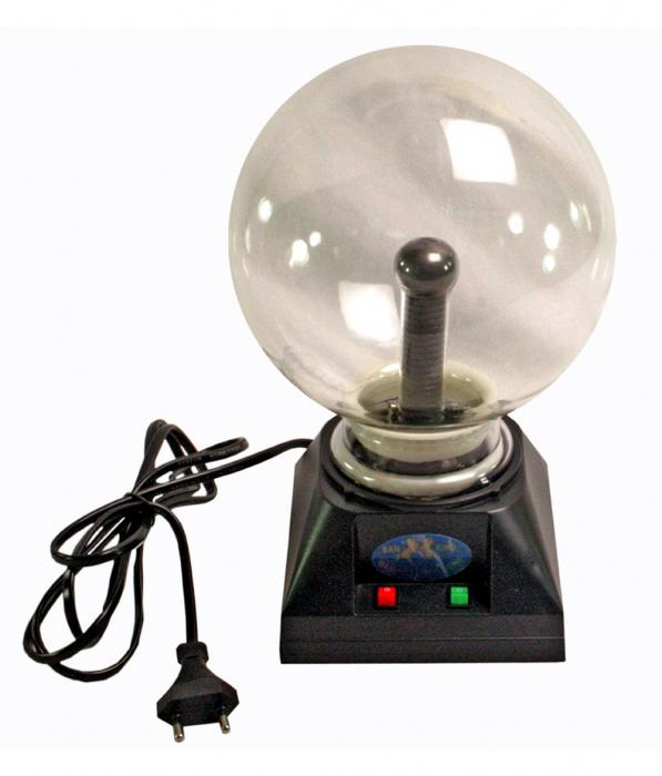 Glob decorativ plasma,cu diametru de 15cm (6 inch) [0]