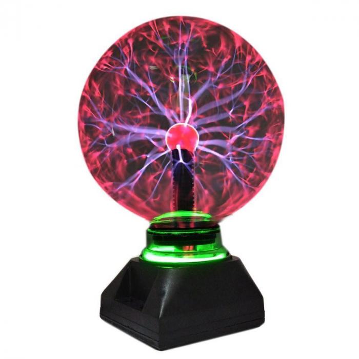 Glob decorativ plasma,cu diametru de 15cm (6 inch) [2]