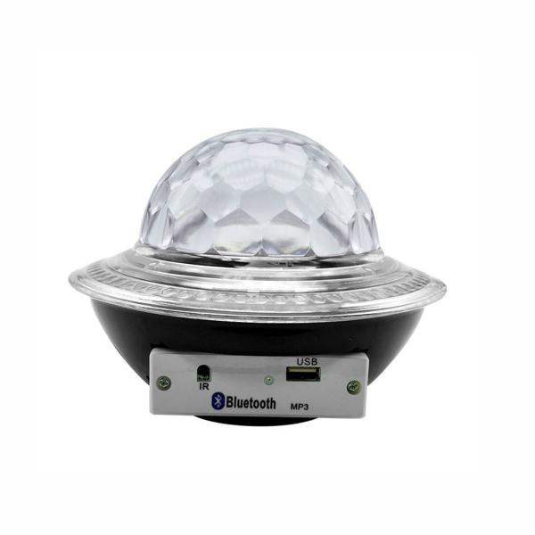 Glob disco cu LED RGB jocuri de lumini si MP3 prin Bluetooth Crystal Magic Balll 0