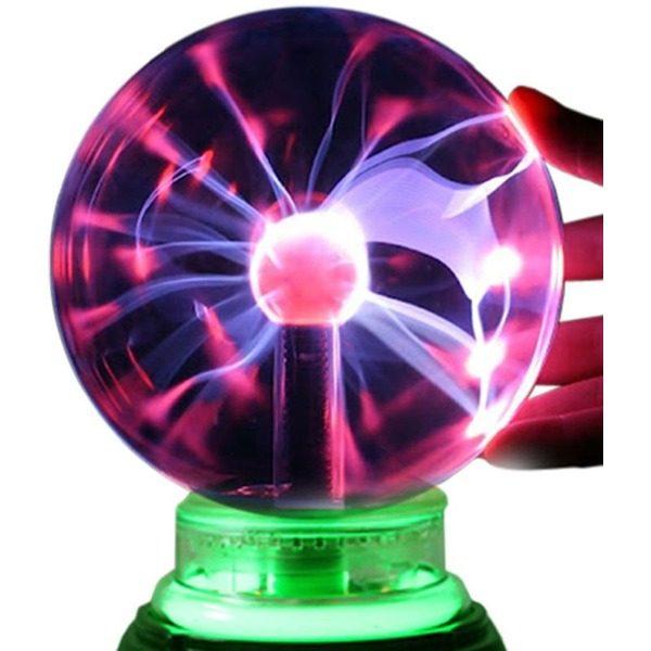 Glob luminos cu plasma si diametru de 20cm 1