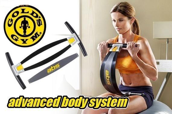 Gold's Gym ABS aparat fitness pentru brate abdomen si coapse 0