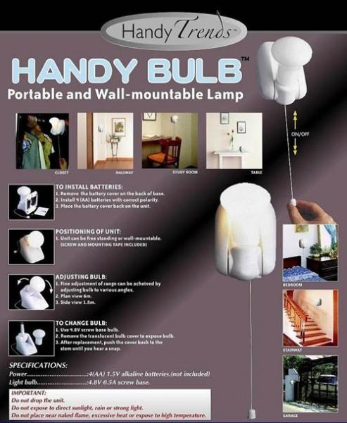 Handy Bulb bec cu intrerupator fara fir  0