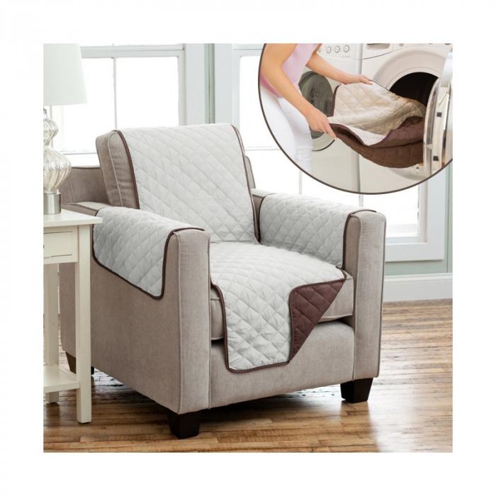 Husa de protectie pentru fotoliu, Couch Coat cu 2 fete 1