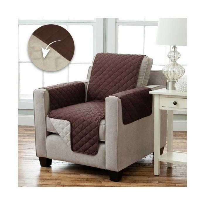Husa de protectie pentru fotoliu, Couch Coat cu 2 fete 2
