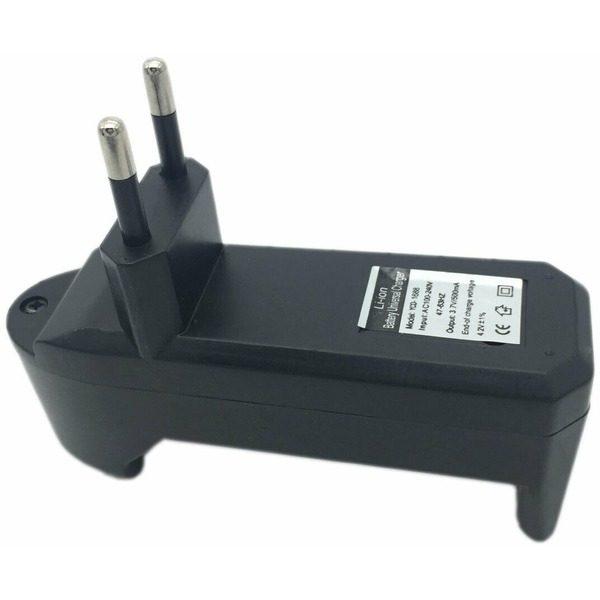 Incarcator pentru acumulator si baterie reincarcabila 3.7V 500mA Li-ion UltraFire 18650 C54 0