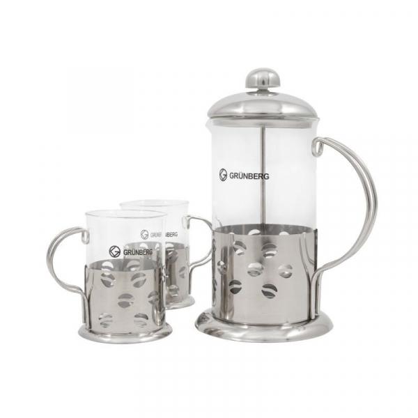 Infuzor ceai sau cafea cu 2 cani Grunberg GR364 0