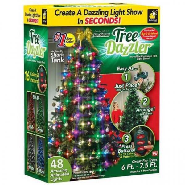 Instalatie pentru bradul de Crăciun cu 48 globuri luminoase Tree Dazzler 4