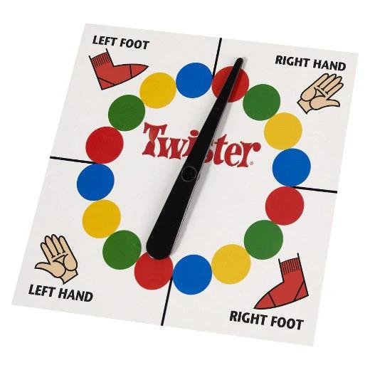 Joc de societate Twister 1
