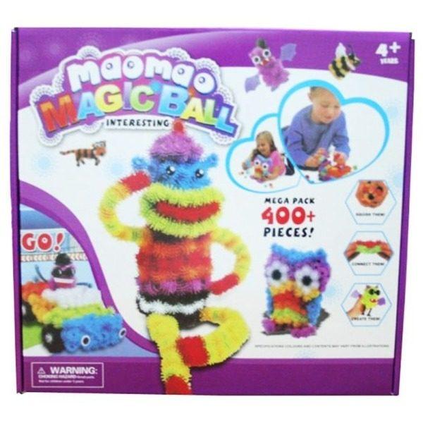 Joc interactiv 3D Maomao MagicBall cu 400 piese multicolore [0]