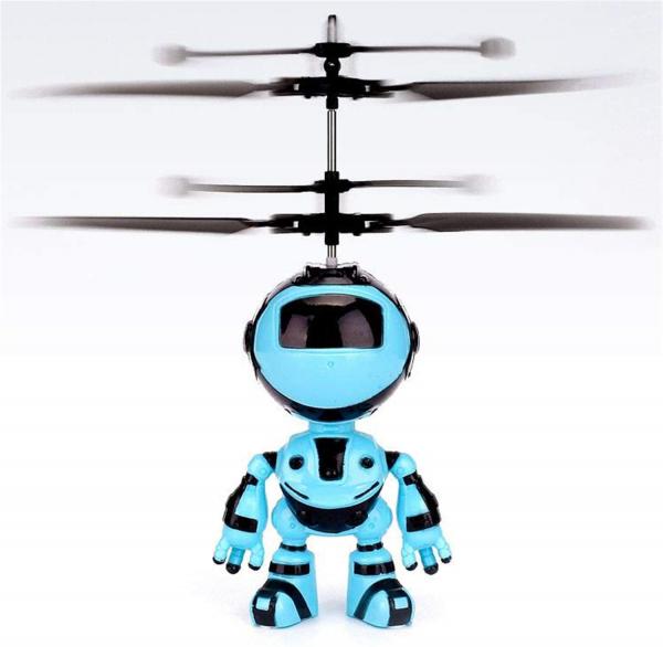 Jucarie interactiva Robot care zboara, reincarcabila cu USB 3