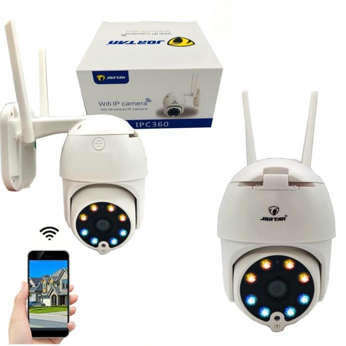 Camera de supraveghere video WIFI cu IP si 360 grade Jortan IPC [3]