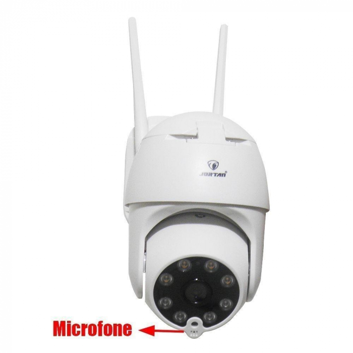 Camera de supraveghere video WIFI cu IP si 360 grade Jortan IPC 2