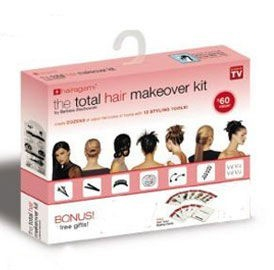Kit pentru coafura Hairagami total hair makeover 1