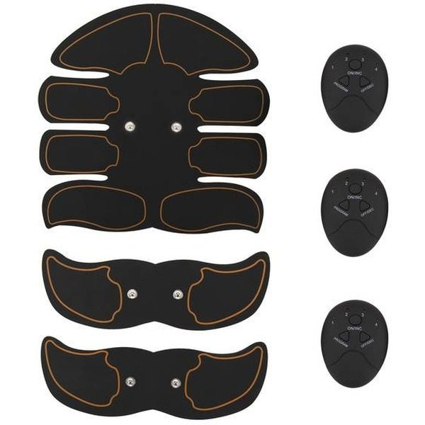 Kit Smart Fitness EMS electrostimulare corporala cu 8 paduri Unisex [0]