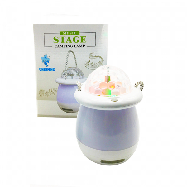 Lampa cu led Music stage camping lamp 0