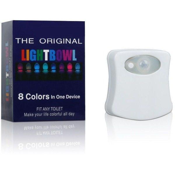 Lampa cu LED pentru vasul de toaleta cu senzor de miscare LightBowl 0