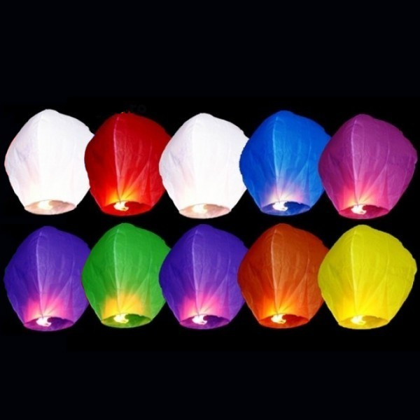 Lampioane zburatoare colorate sky lanterns [0]