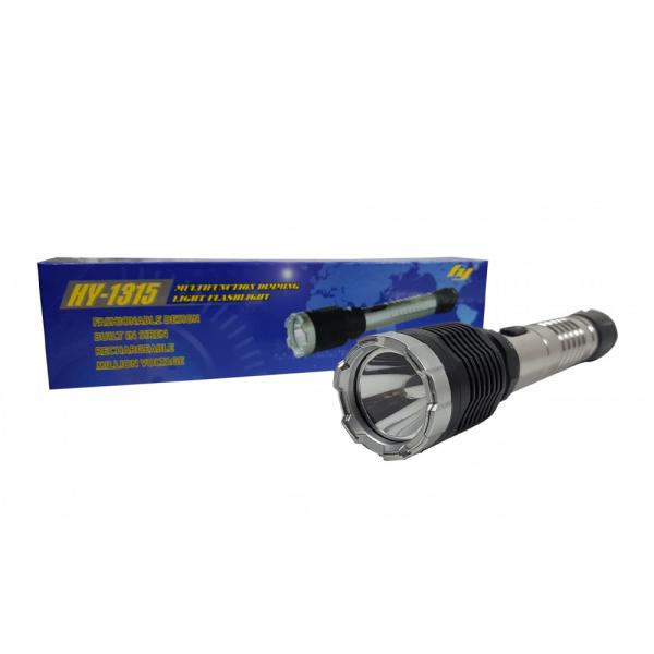 Lanterna cu electrosoc pentru autoaparare cu 3 faze de iluminare HY-1315 0