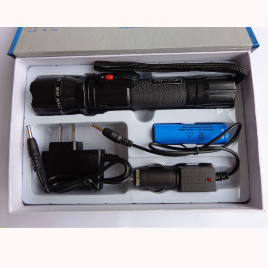 Lanterna cu electrosoc TW-318 cu acumulator schimbabil 1